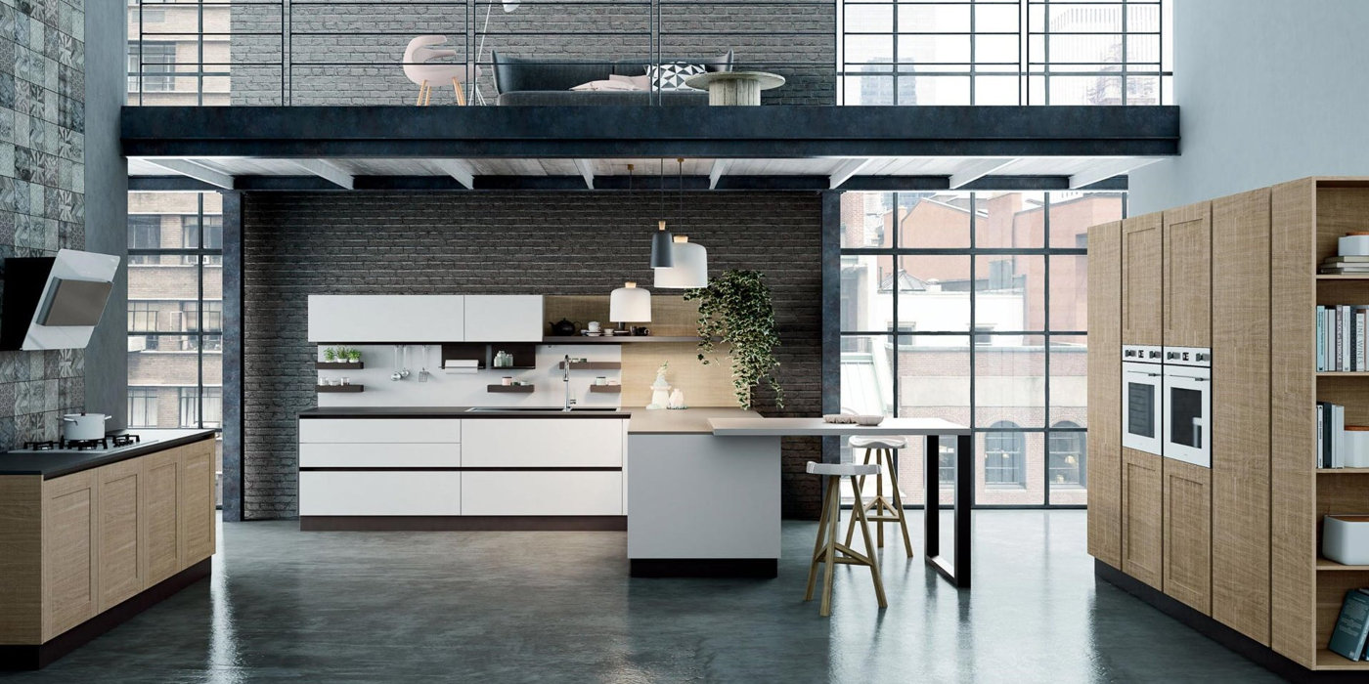 Fabbrica cucine brescia good cucine componibili snaidero cucina moderna bianca e marrone - Fabbrica cucine componibili economiche ...